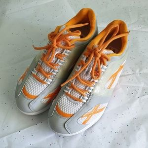 MBT Walking Shoes Gray Orange Physiological size 8